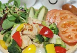 [일본 가정식] 치킨버터구이 :: 고소한 버터향이 풍기는 부드럽고 담백한 맛의 닭고기 야채 볶음