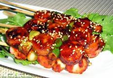 초간단 캠핑요리/수제소시지로 만든 소시지꼬치