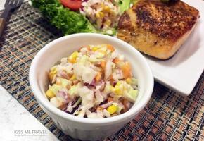 초간단! 아삭아삭 양배추 샐러드, 코울슬로 집에서 만들기 :)
