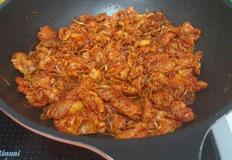 시오야끼 ♡새콤매콤한 파무침 + 대패삼겹살 볶음♡