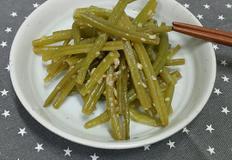 [고구마줄기볶음] 간단한 밥반찬! 고구마줄기 볶음 만들기 -양싸