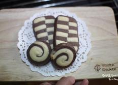 체크무늬 쿠키 만들기