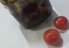 제철 토마토장아찌만들기
