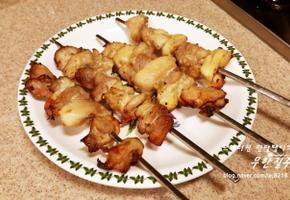 닭꼬치 만들기 데리야키 닭꼬치구이 만드는 방법 간장양념