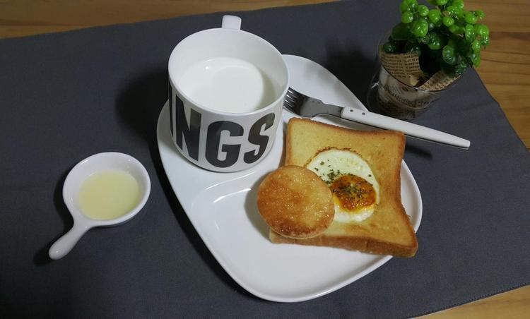 식빵으로 만든 계란빵~*