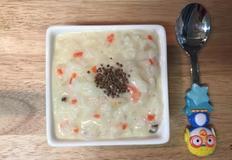 오늘의 아기밥상-치즈 새우죽