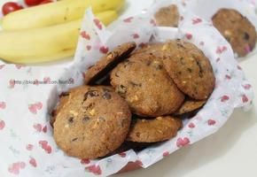 초코칩 견과류 쿠키