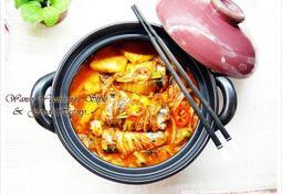 한국적인 맛 꽁치 김치찜