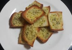 올리브유를 이용한 초간단 마늘빵만들기