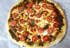 제빵기 없이 무반죽 피자도우 만들기