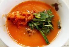 #동치미냉면육수로 간편하게 김치말이밥 만들기