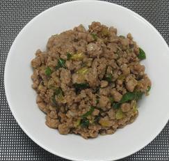 초간단 돼지고기 다짐육 볶음~*