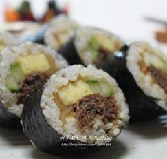 주말별미~ 든든한 불고기현미김밥