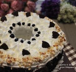 초코 쉬폰 케이크