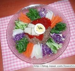 여름 별미국수/쟁반 비빔 막국수