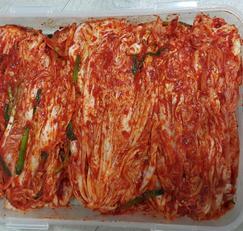 가을배추포기김치(알배추3포기) / 배추절이기 / 풀쑤기