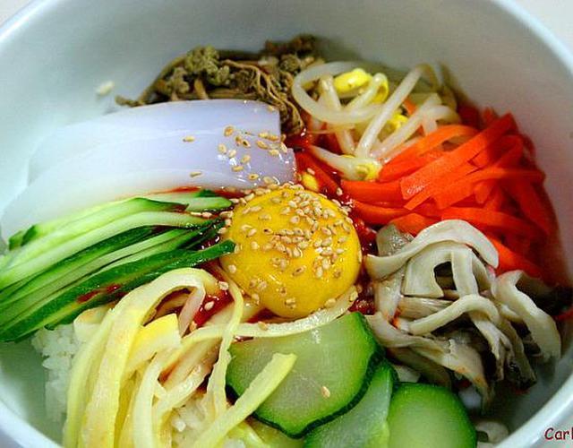 나물비빔밥