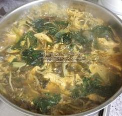 닭계장만들기/ 닭가슴살로 초간단 다이어트용 닭계장만드는법