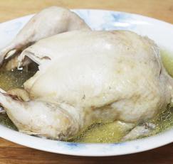 닭백숙 끓이는법, 압력솥에 끓이는시간