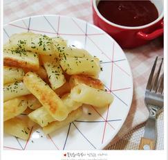떡튀김 만들기,떡꼬치소스 만들기,떡국떡 활용요리