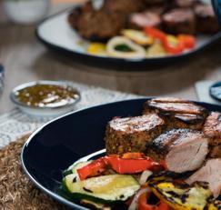 포크 텐더로인 (스페인 돼지고기 안심 스테이크) Pork Tenderloin