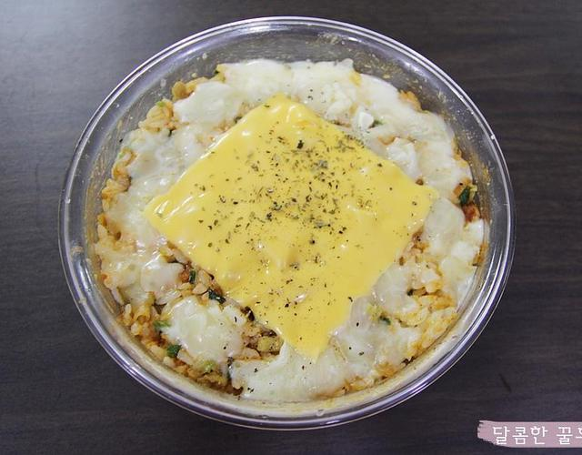 만두치즈밥