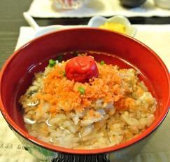 간단한 일본가정식 [오차즈케おちゃずけ]