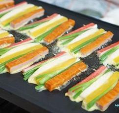 햄맛살꼬치전 / 명절음식 꼬치산적 만들기 !