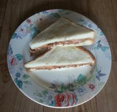 누텔라 땅콩버터 샌드위치(누땅 샌드위치)