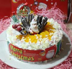 크리스마스케이크 만드는 법