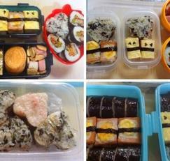 다양한 재료로 김밥 맛있게 만들기