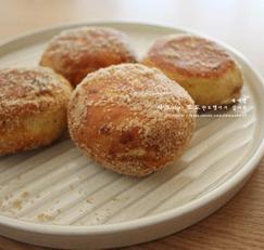 노오븐 크림치즈빵 호떡믹스활용 -인삼간식