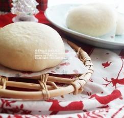 쌀로 만든 우유호빵