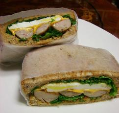 아침에 간단하게 5분 샌드위치 만들기(소스가 맛있는 샌드위치)