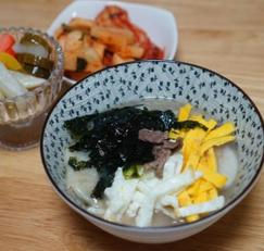 떡만두국 황금레시피 :소고기 떡만두국 맛있게 끓이는 법