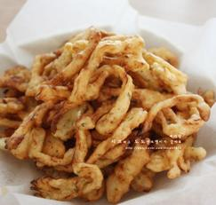 오징어튀김 대신 만든 튀김 오징어진미채튀김