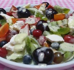 냉장고 비우기/ 남은 과일로 만든 샐러드