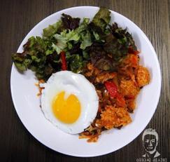 고추장 잡채 볶음밥 - 남은 잡채 활용 요리
