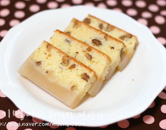 호두양갱케이크