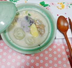 칼떡만두국/캐슈넛으로 영양을 보충해요~^^