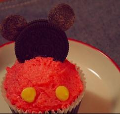 [영상]미키마우스 컵케익 만들기