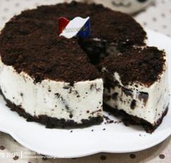오레오 치즈 케이크