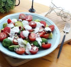 미니양배추 토마토샐러드