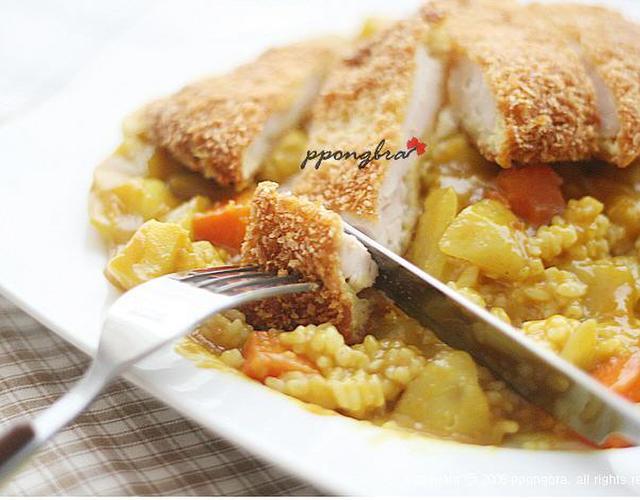 치킨까스카레덮밥