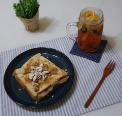 설빙 인절미 토스트 만들기