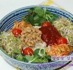새싹 비빔밥 만드는 법 - 새싹비빔밥 양념장