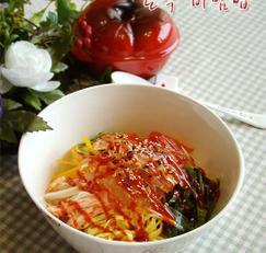 저칼로리 곤약 비빔밥 만들기