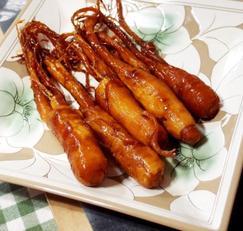 #인삼정과만들기 #인삼과 찰떡궁합 꿀을 넣은 수삼정과 만들기
