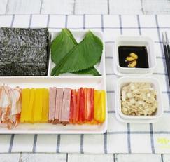 셀프김밥 만드는 법 , 불 사용안하는 재료들로만 간단히!