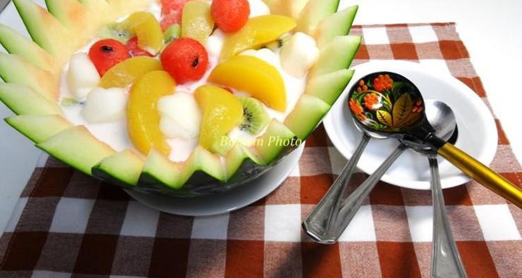 시원하고 달콤한 수박 화채
